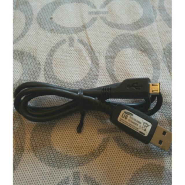 🎀SAMSUNG U6 原廠充電線 傳輸線