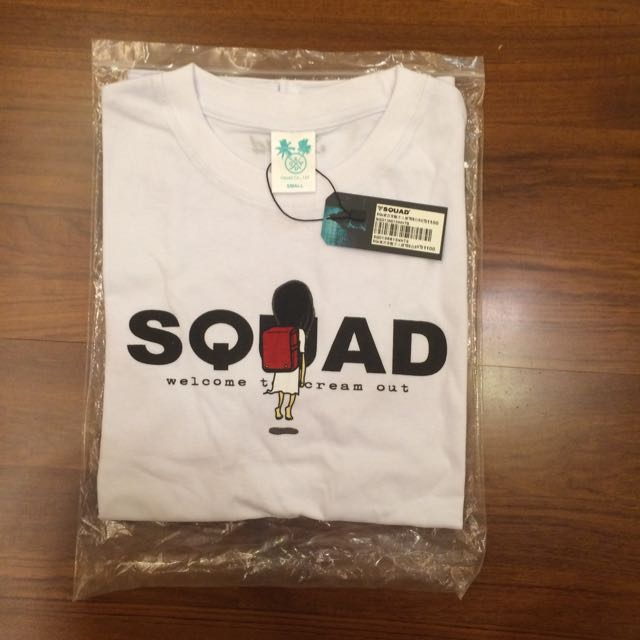 Squad 短T  Size S