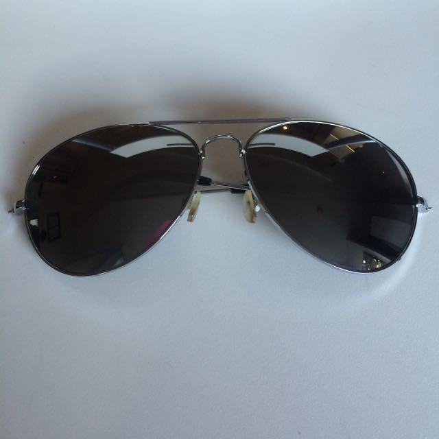 Sunglasses - Aviator Mirror Lens