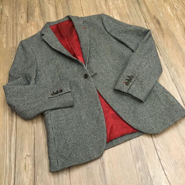 TAKEO《2手》復古西裝外套