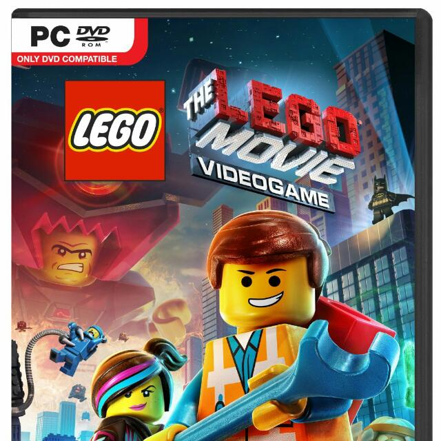 The Lego Movie Videogame Pc Dvd Toys Games On Carousell