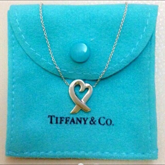 Tiffany&Co. 純銀 愛心 項鍊