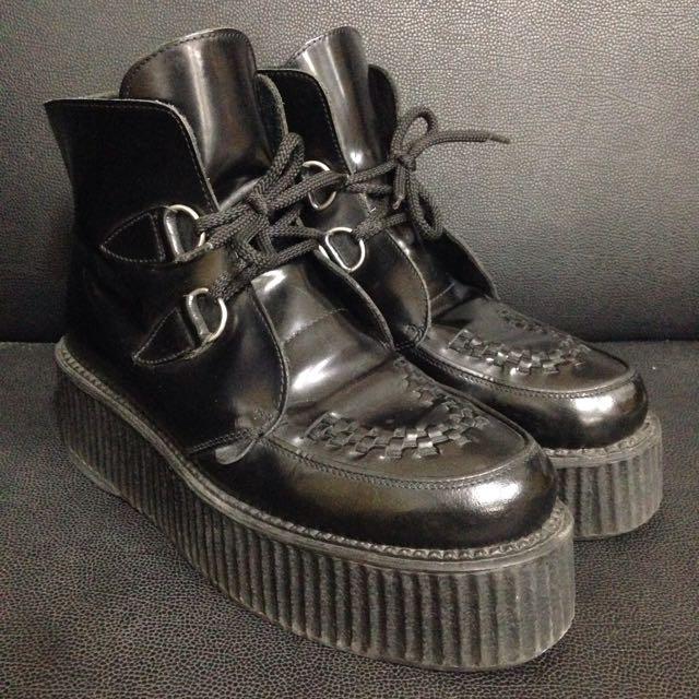 [售出]UNDERGROUND 厚底靴鞋 鬆糕鞋