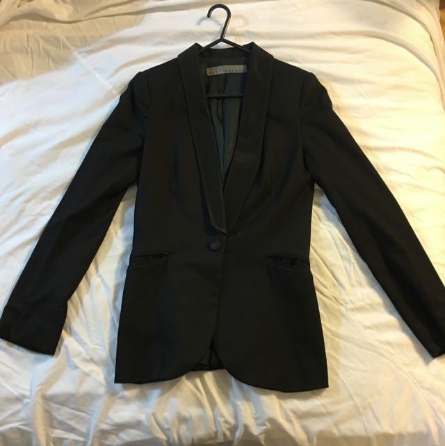 Zara Basic Suit Jacket