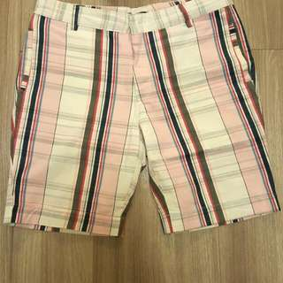 Checkered Pattern Shorts