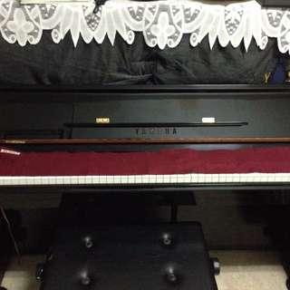 【自售】自用 經典黑 YAMAHA 直立鋼琴 (一號琴)