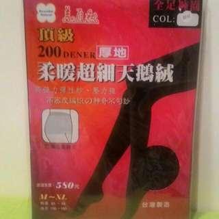 ✨全新台灣製天鵝絨褲襪