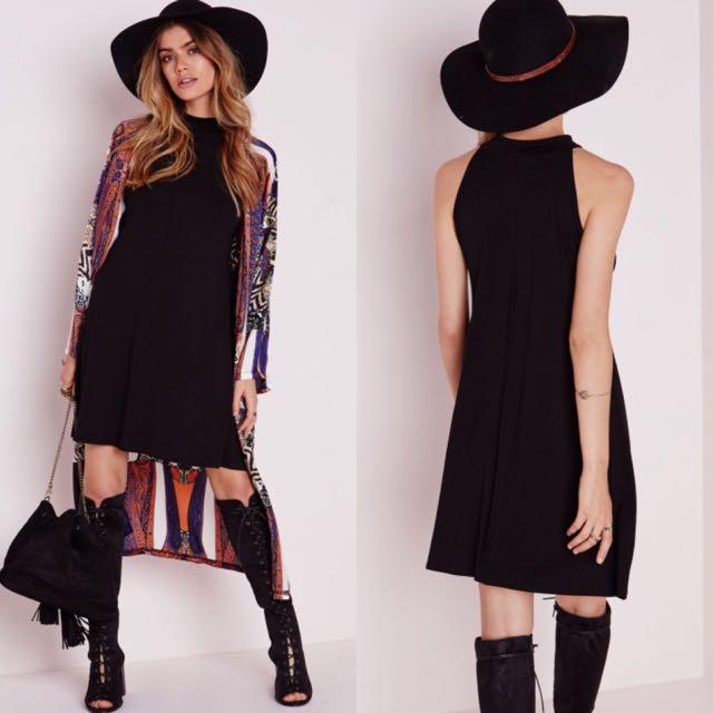 100%來自英國🇬🇧品牌 黑色削肩長裙