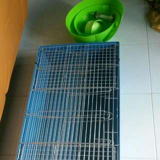 Cage For Guinea Pigs Or Rabbits