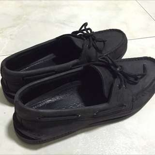 Sperry All Black Shoes