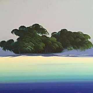 Gorgeous Island Painting