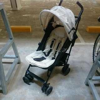 Preloved Mini Easiwalker With Maxi Cosi CabrioFix Car Seat