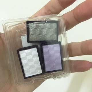 Shiseido資生堂 單色眼影 白/紫/灰