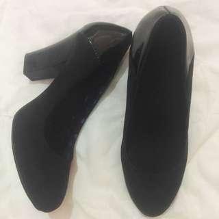 Promod Black Heels-preloved