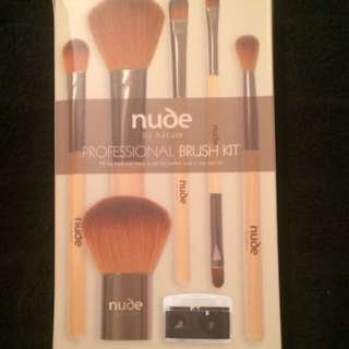 Nude By Nature Makeup Brushes