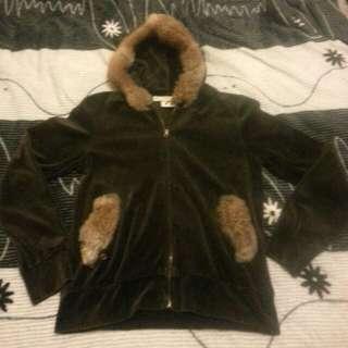(全新日本帶回含運)Tokyo毛毛可拆式外套