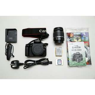 Used Canon EOS 550D DSLR