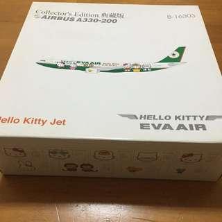 長榮hello Kitty飛機模型 A330-200 模型