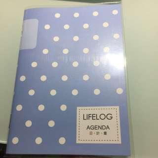 日程本 日計畫 Lifelog Agenda