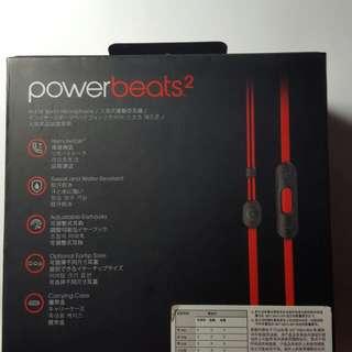 全新Power beats2  運動耳機