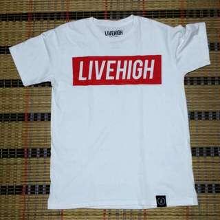 LiveHigh Red Bar Tshirt