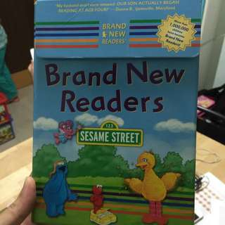 Instock! Sesame Street Readers All Books Intact Untouched
