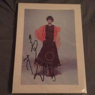Rainie Album With Signature.