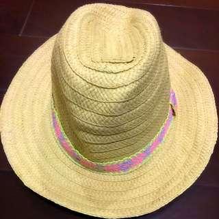 H&M編織草帽