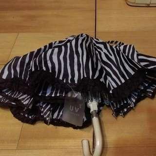 斑馬紋抗UV傘