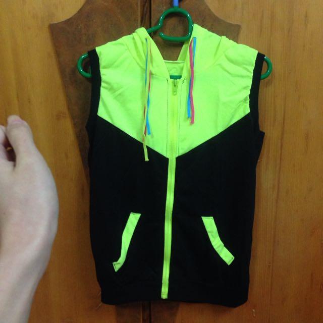 螢光運動背心+短褲