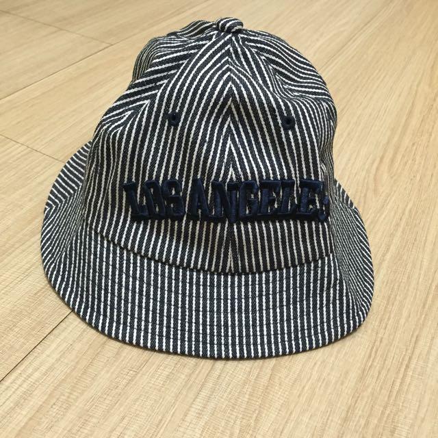 藍白條紋漁夫帽
