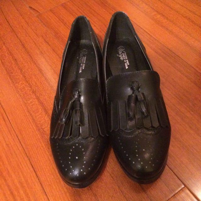 全新牛津樂福鞋