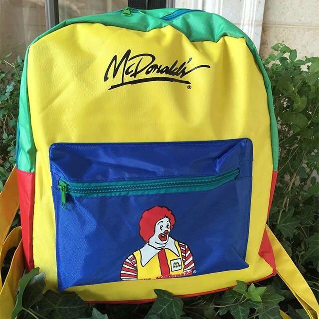 麥當勞拼色包✨全新