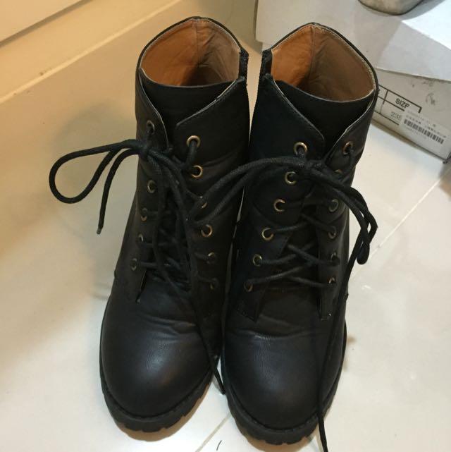內增高靴子