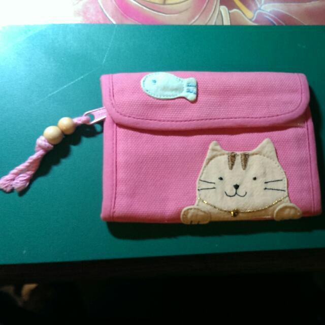 卡拉貓 可愛布錢包