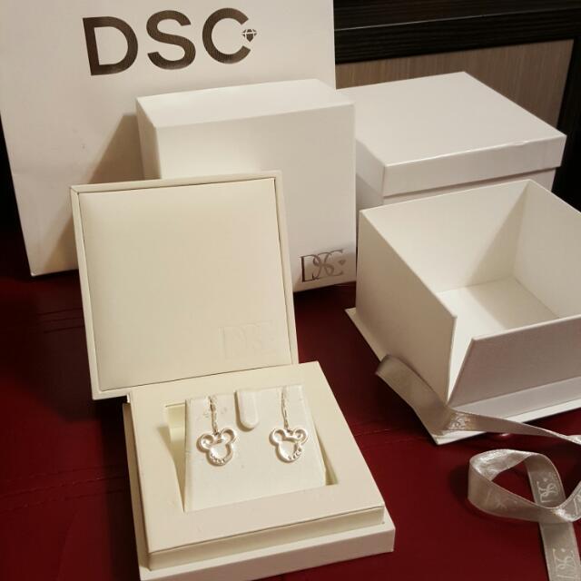 鑽石耳環 練墜 收納禮盒提袋(不含飾品)