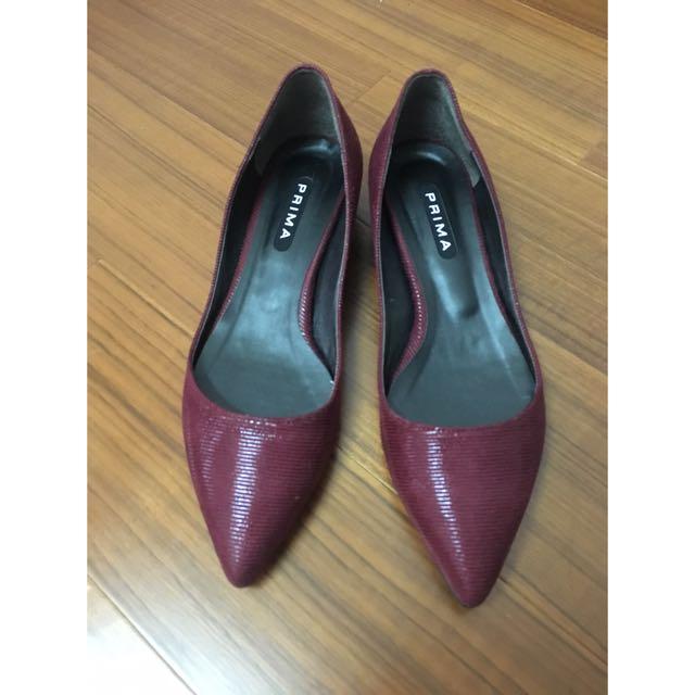 📌 二手 - 韓版尖頭低跟鞋