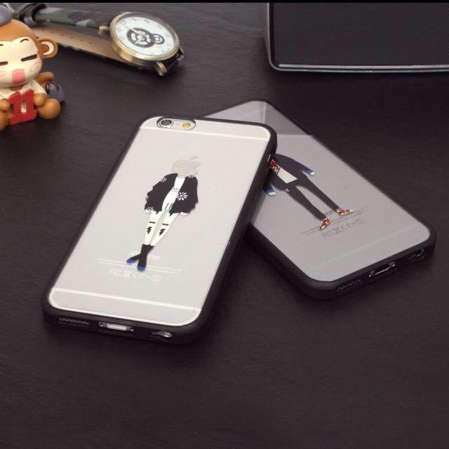 情侶款禮服 iphone6s 5.5吋 保護殼 手機殼(一組)