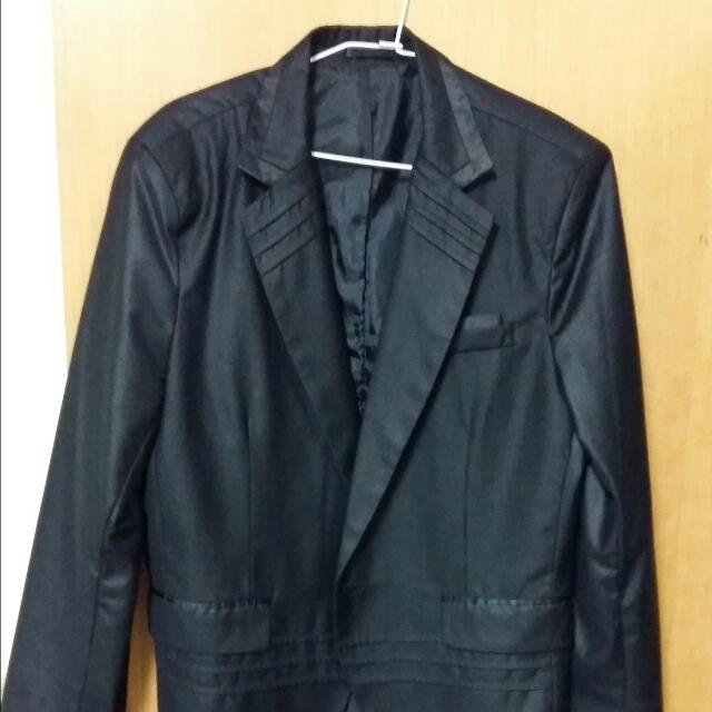 韓版西裝外套 約xl