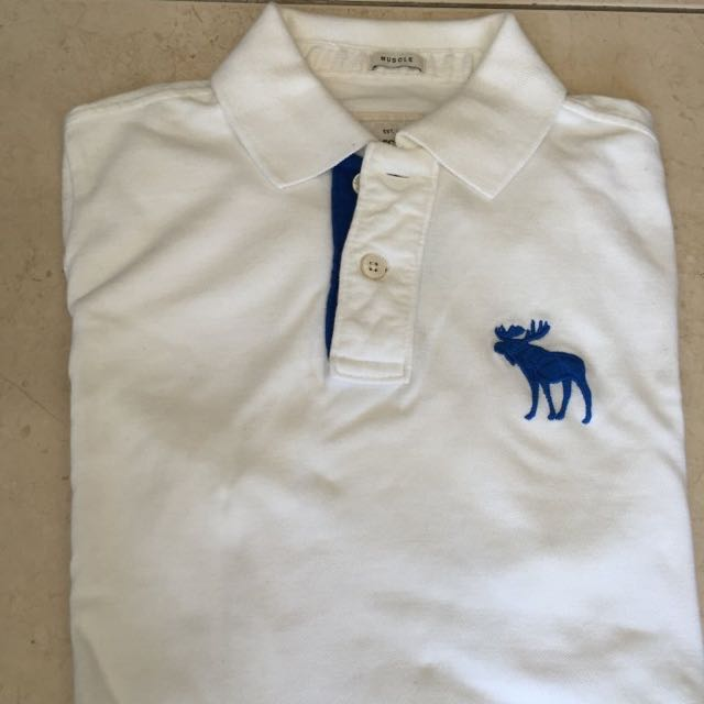 Abercrombie &Fitch 短袖Polo衫