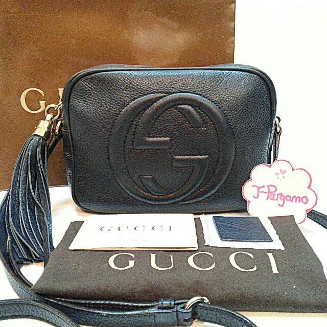 b1efd68159d Authentic Gucci Soho Disco Sling Bag    Only For Sale        NO ...