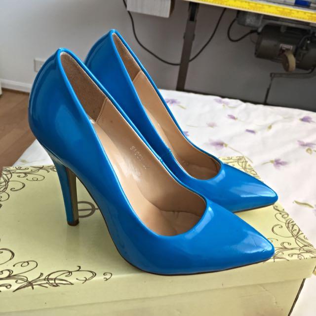 Blue Stilletos