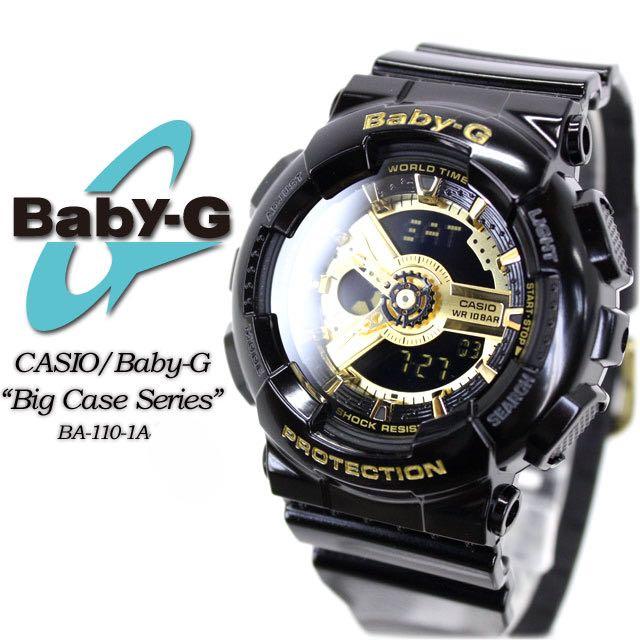 452be34db398 Genuine Casio Baby-G BA-110-1A Analog Digital Black Resin Band ...