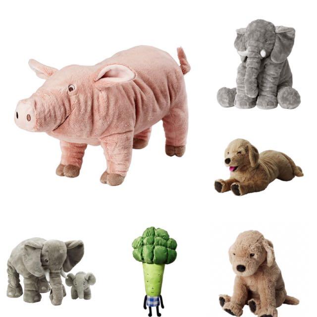 IKEA 填充玩具 娃娃