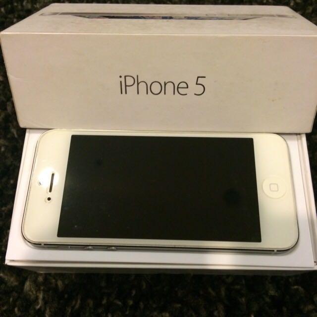 (二手)iphone5  16GB  白銀