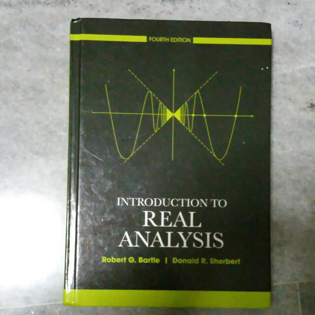 MA2108 Textbook: Introduction To Real Analysis 4th Ed