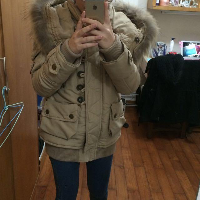 超厚N3B外套
