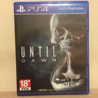 PS4 直到黎明