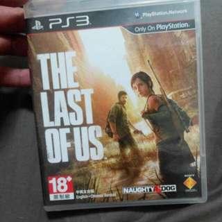 Ps3 遊戲光碟 最後生還者 The last of us
