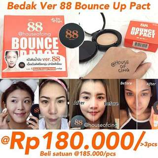 Ver 88 Bounce Up Pact bedak foundation bb cream